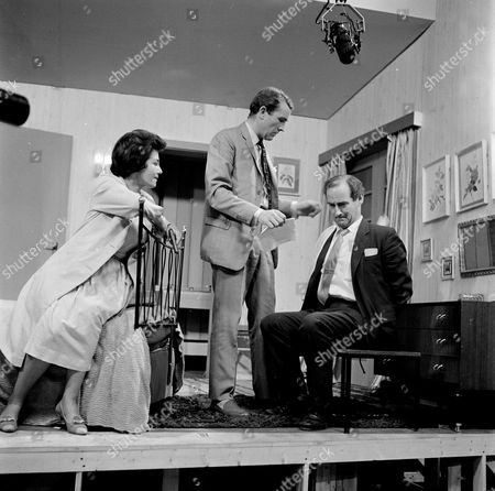 Katharine Blake, Ian Hendry and Peter Hughes