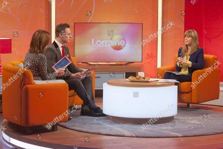 Carla Buzasi and Martin Daubney with Kate Garraway