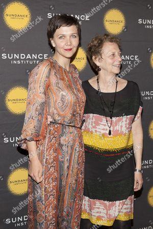 Maggie Gyllenhaal and her mother Naomi Foner Gyllenhaal
