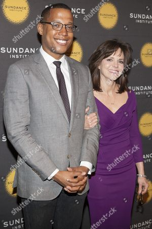 Branden Jacobs-Jenkins and Sally Field
