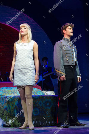 Tricia Adele-Turner (Jane) and Matthew Wycliffe (Jude)