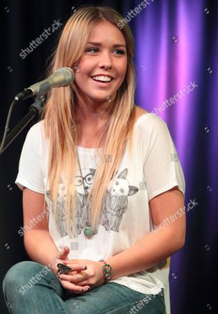 Editorial picture of Noelle Bean visits the Q102 Performance Theater in Bala Cynwyd, Pennsylvania, America - 11 Apr 2013