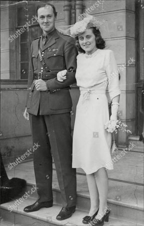 Wedding Of Kathleen Kennedy And William Cavendish Marquess Of Hartington William John Robert Cavendish Marquess Of Hartington (10 December 1917 Oo 9 September 1944) Was The Eldest Son Of Edward Cavendish 10th Duke Of Devonshire And His Wife Mary Alice Gascoyne-cecil. He Was The Husband Of Kathleen Agnes Kennedy Sister Of Future U.s. President John F. Kennedy. He Was Killed In Action 9/9/44.