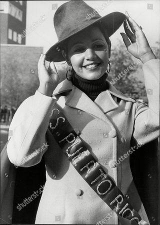 Raquel Quintana Beauty Queen Miss Puerto Rico.