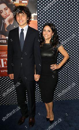Charles Hall and Julia Louis-Dreyfus