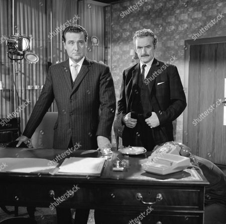 Patrick Macnee and Andrew Keir