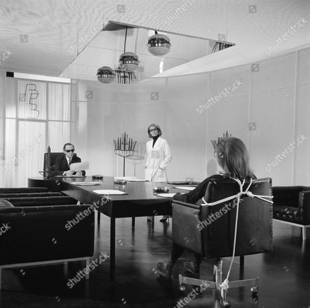 Stock Picture of Patrick Cargill, Annette Carell and Diana Rigg