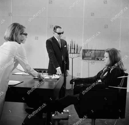Annette Carell, Patrick Cargill and Diana Rigg