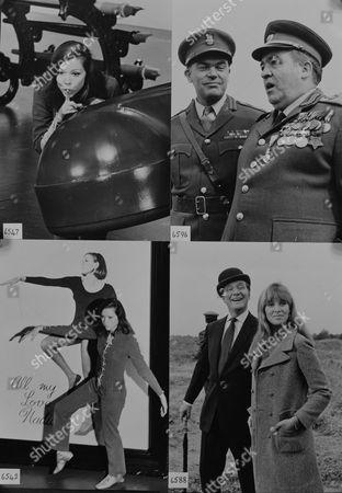Patrick Macnee, Diana Rigg Ronald Radd, Jane Merrow