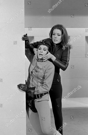 Stock Image of Pamela Ann Davy and Diana Rigg