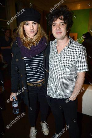 Suki Waterhouse and Harper Simon