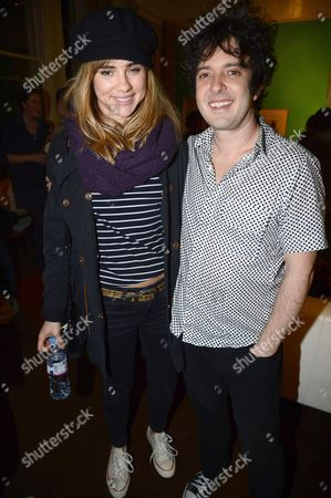 Stock Photo of Suki Waterhouse and Harper Simon
