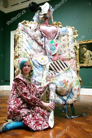 Julie Verhoeven unveils her installation 'Ladies Let's Rip'