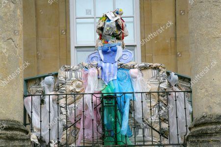 Stock Photo of Julie Verhoeven unveils her installation 'Ladies Let's Rip'