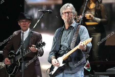 Eric Clapton and Andy Fairweather Low