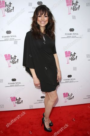 Editorial picture of 'What A Pair!' cancer benefit, Los Angeles, America - 13 Apr 2013