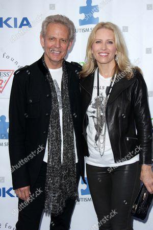 Stock Photo of Don Felder, Kathrin Nicholson