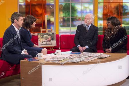 John Stapleton and Lorraine Kelly with Richard Stone and Diane Abbott