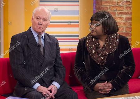 Richard Stone and Diane Abbott