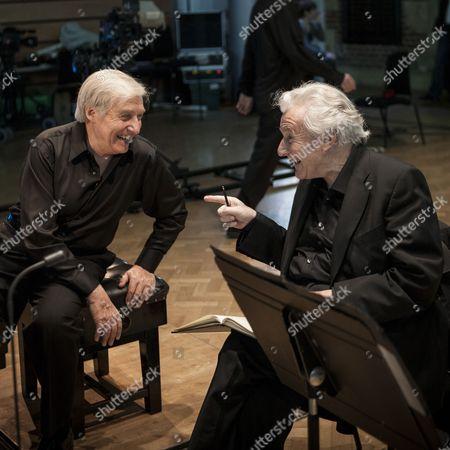 Sir Colin Davis and Joaquin Achucarro