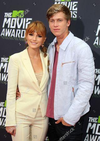Bella Thorne with boyfriend Tristan Klier