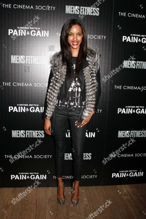 Editorial image of The Cinema Society host a 'Pain and Gain' film screening, New York, America - 15 Apr 2013