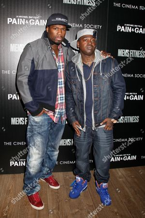 Stock Photo of 50 Cent and Kidd Kidd