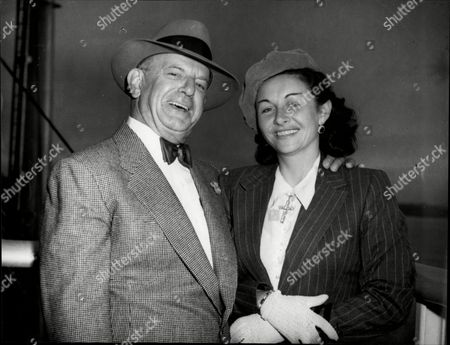 Actress Vera Ralston With Her Husband Herbert Yates Vera Ralston (born V?ra Helena Hruba; July 12 1919 Oo February 9 2003) Was A Czech Figure Skater And Actress. She Later Became A Naturalized American Citizen. She Worked As An Actress During The 1940s And 1950s.