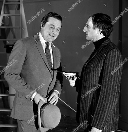 Patrick Macnee and Jeremy Young