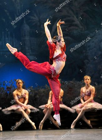 Editorial picture of 'La Bayadere' performed by the Royal Ballet at the Royal Opera House, London, Britain - 04 Apr 2013