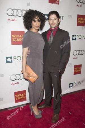 Stock Picture of Margot Bingham and Nick Matthews