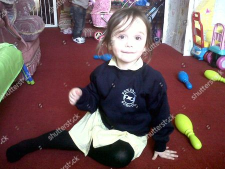 Three year old Levina, who was found dead  at a basement flat in Grovnor Road, Lowestoft, Suffolk after a woman in her 20s believed to be their mother was found dead after jumping from a car park roof in Gordon road