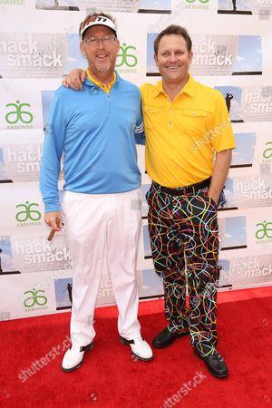 Editorial image of 10th Annual Hack N' Smack, Kerry Daveline Memorial Celebrity Golf Classic, Tarzana, America - 14 Apr 2013