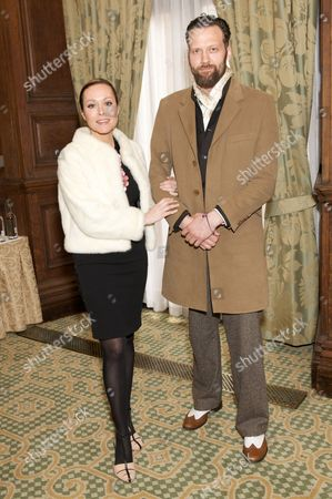 Stock Image of Amanda Mealing and Richard Sainsbury