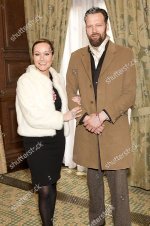 Amanda Mealing and Richard Sainsbury