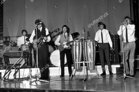 The Yardbirds - Jim McCarthy, Paul Samwell Smith, Eric Clapton, Chris Dreja and Keith Relf - 1964