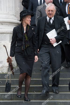 Virginia Bottomley and Peter Bottomley, St Paul's Cathedral