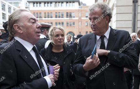 Sir Andrew Lloyd Webber, Jeremy Clarkson and his daughter Emily