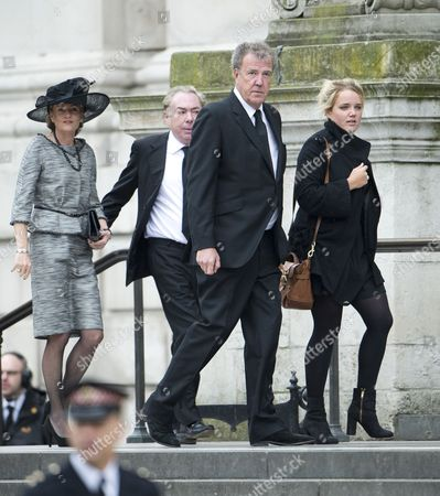 Madeleine Gurdon, Sir Andrew Lloyd Webber, Jeremy Clarkson and daughter Emily