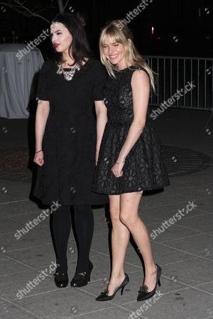 Matilda Sturridge and Sienna Miller