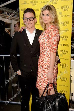 Editorial image of 'Beautiful Thing' play press night, London, Britain - 17 Apr 2013