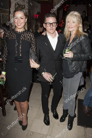 Claire Sweeney, Glen Berry and Gaby Roslin