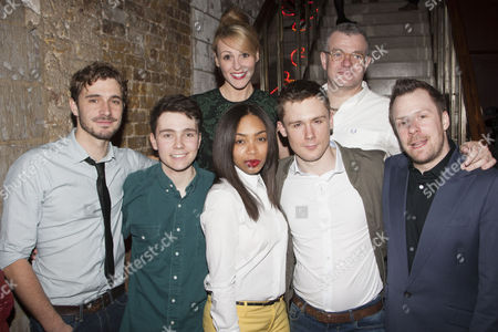 Editorial picture of 'Beautiful Thing' play press night after party, London, Britain - 17 Apr 2013