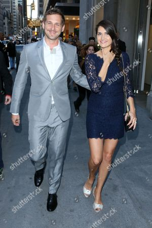Josh Lucas and Jessica Henriquez