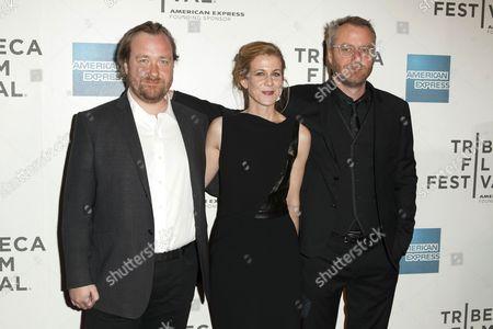 Stock Picture of Tom Berninger, Dawn Barger and Matt Berninger