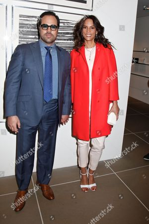 Stock Image of Chris Del Gatto and wife Veronica Webb