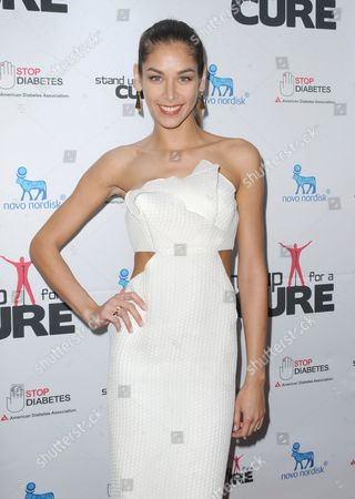Editorial picture of Stand Up For A Cure, New York, America - 17 Apr 2013