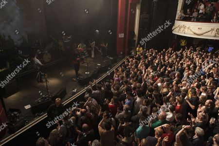 Stock Picture of British Sea Power perform at the O2 Shepherds Bush Empire, London 17/04/13