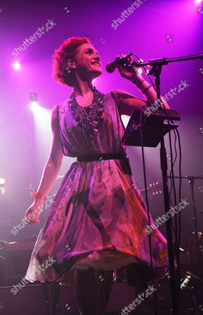 Vocalist Cornelia performs with jazz and electronica band Portico Quartet