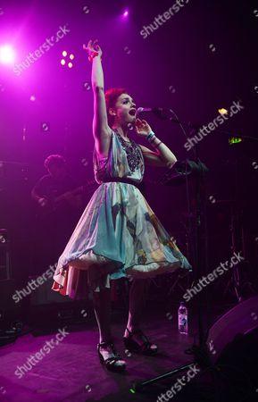 Editorial picture of Portico Quartet in concert, Koko, London, Britain - 17 Apr 2013
